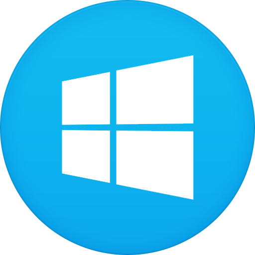 Windows Icon Circle Iconset