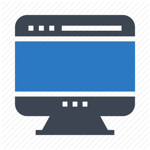 Browser, Lcd, Monitor, Screen, Webpage Icon