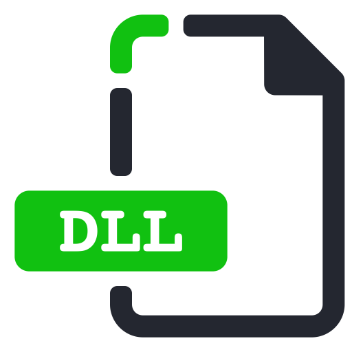 Dll, Extension, File, System Icon