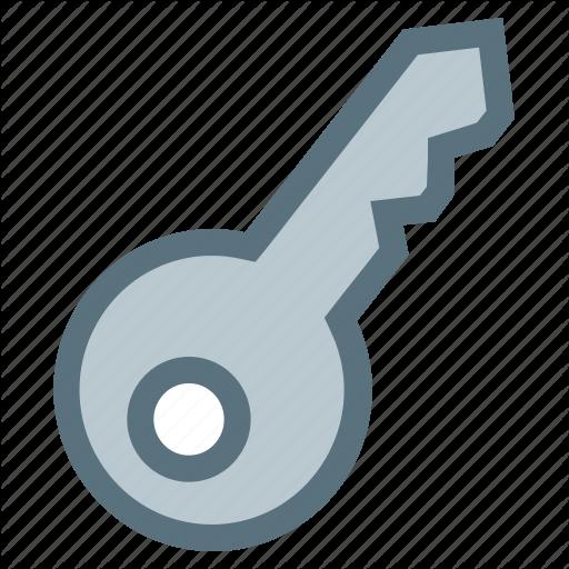 Key, Master Key, Pass, Primary Icon