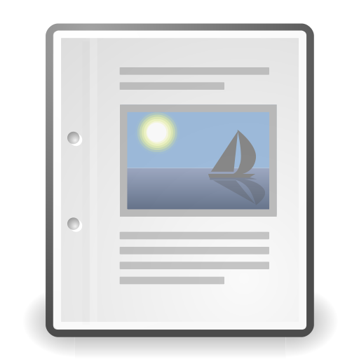 Document, Office Icon