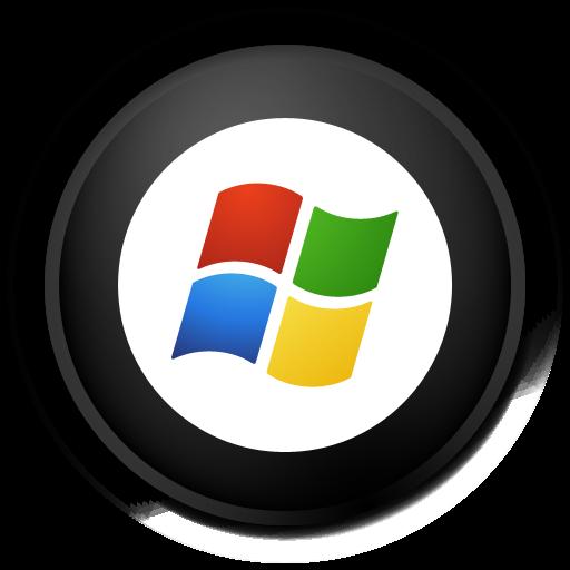 Black Windows Icon Images
