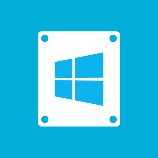 Windows Drive Icons, Free Icons In Metro Ui