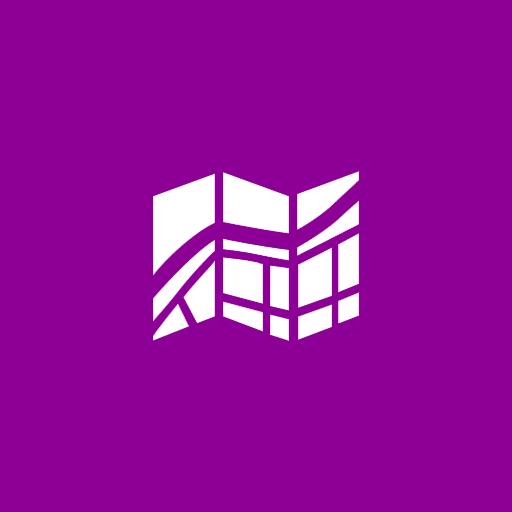 Windows Maps Icons, Free Icons In Metro Ui