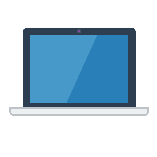 Flat Laptop Icon Images