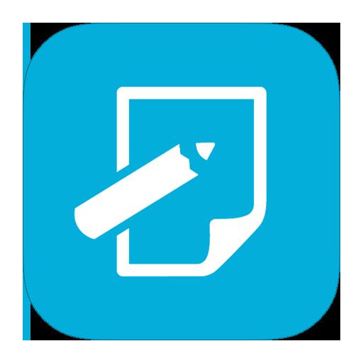 Metroui, Notepad Icon