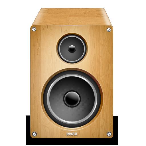 Speaker Wood Icon