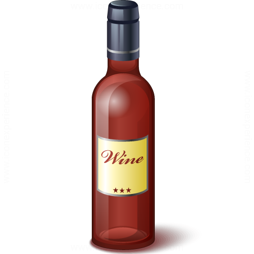 Iconexperience V Collection Wine Red Bottle Icon