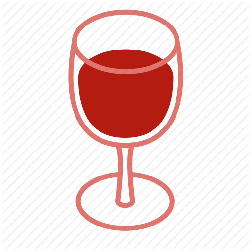 Alcohol, Drink, Full, Glass, Red, Red Wine, Wine Icon