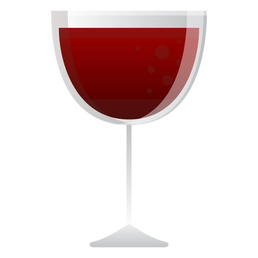 Red Wine Glass Icon