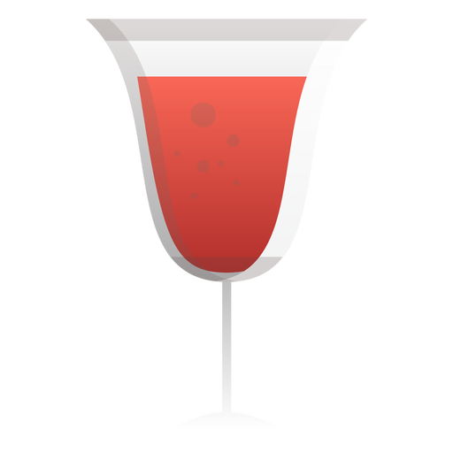 Sparkling Red Wine Glass Icon