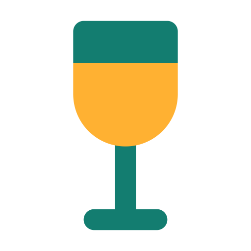 Alcohol, Beverage, Drink, Drinks, Glass, Wine Icon