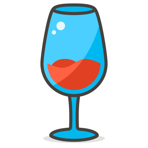 Glass, Wine Icon Free Of Another Emoji Icon Set