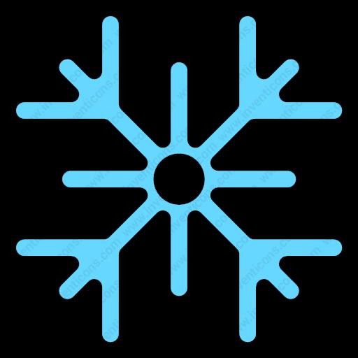 Download Snowflake,snow,cold,winter,weather,nature Icon Inventicons