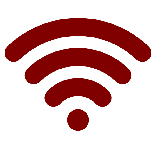 Wifi Icon Red Png Image