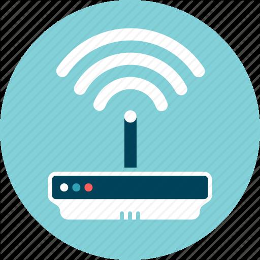 Connection, Device, Internet, Modem, Wifi, Wireless Icon