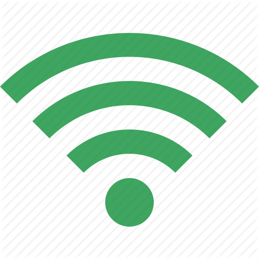 Connection, Fi, Green, Internet, Wi, Wireless Icon