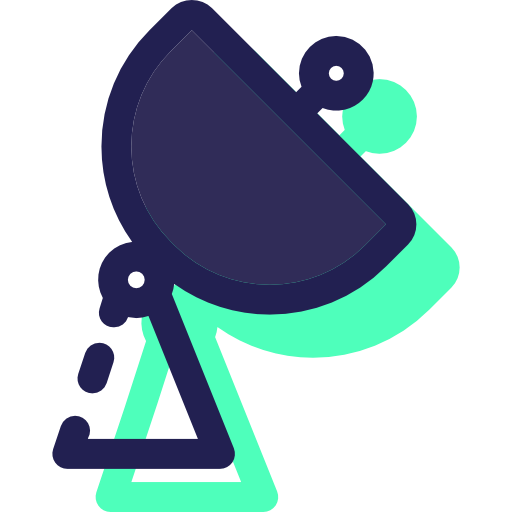 Antenna, Radar, Wireless Icon