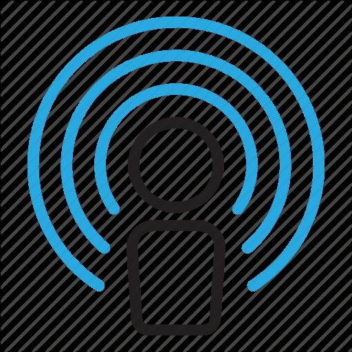 Identity, Name, Settings, Wifi, Wireless Icon