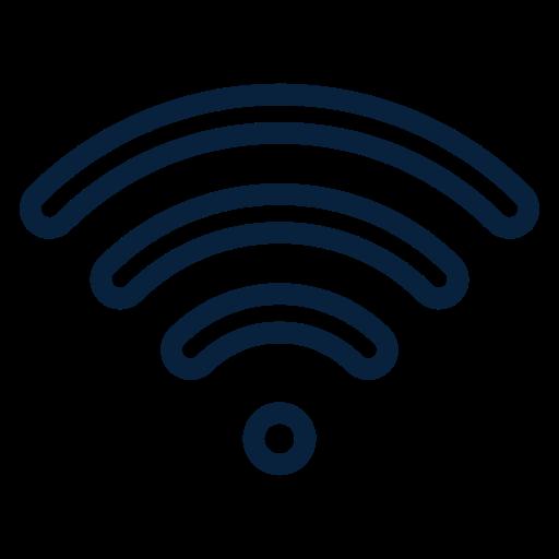 Wifi Outline Black Icon