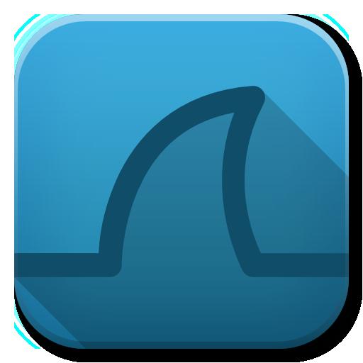 Apps Wireshark Icon Flatwoken Iconset Alecive