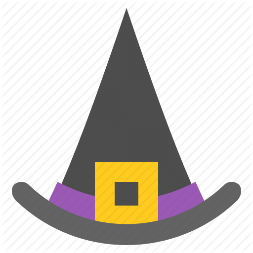 Accessories, Clothes, Fashion, Halloween, Hat, Wear, Witch Hat Icon