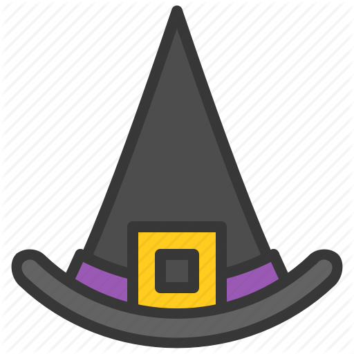 Clothes, Fashion, Halloween, Hat, Style, Wear, Witch Hat Icon