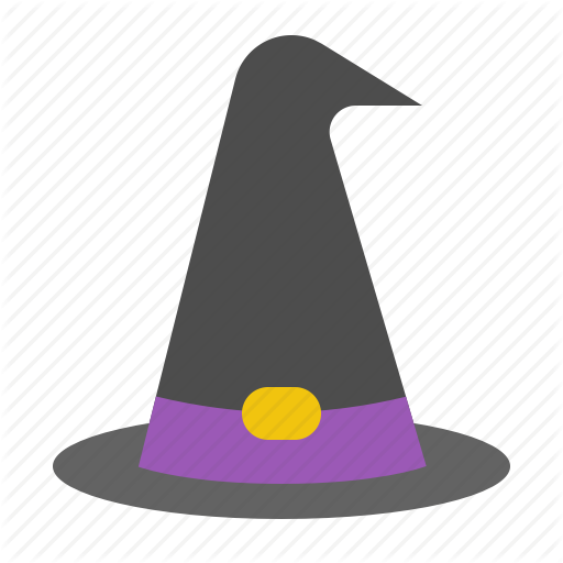 Fashion, Halloween, Hat, Witch, Witch Hat Icon