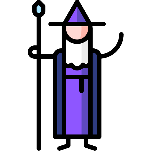 Wizard Free Vector Icons Designed