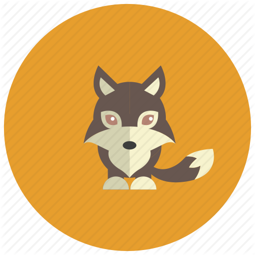 Animals, Cute, Ears, Mystic, Tail, Wolf Icon