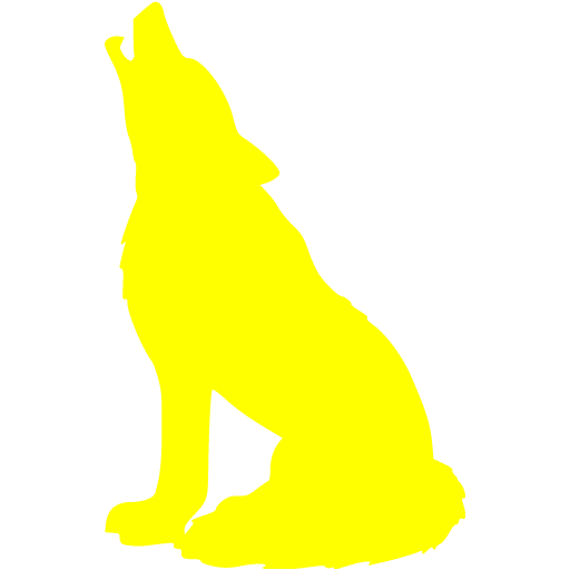 Yellow Wolf Icon