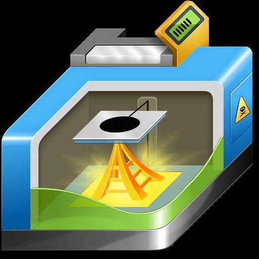 D Printing Icon Free Printer Iconset Aha Soft