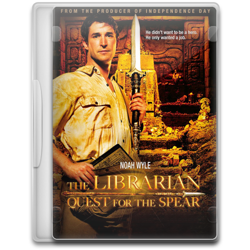 The Librarian Quest For The Spear Icon Movie Mega Pack Iconset