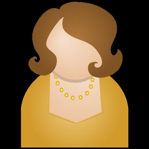Brown Woman Icon People Iconset Dapino