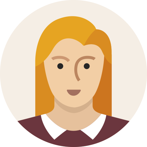 Woman, Female, Avatar, User, Person, Girl, Blond Icon