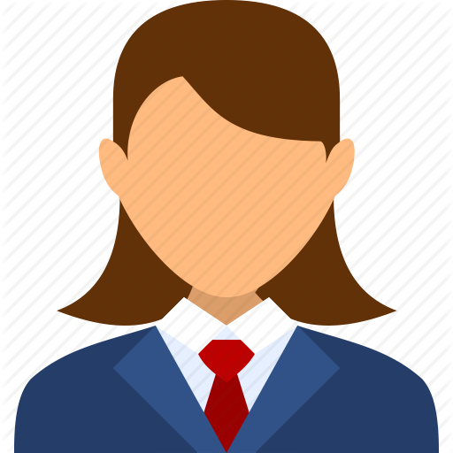 Account, Boss, Businessman, Girl, Manager, User, Woman Icon
