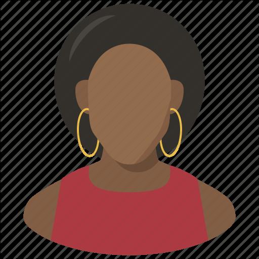 Avatar, Black Woman, Female, Lady, User, Woman Icon
