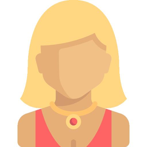 People Woman Flat Icon