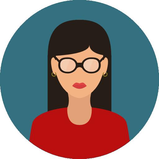 Woman Flat Seagreen Icon