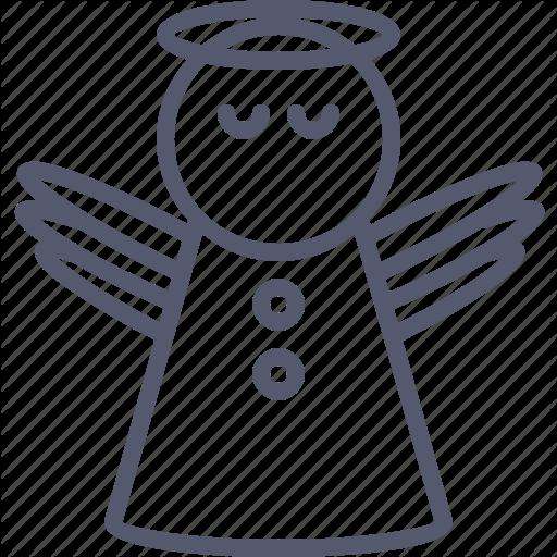 Angel, Christian, Kindness, Moral, Religion, Wonder Icon