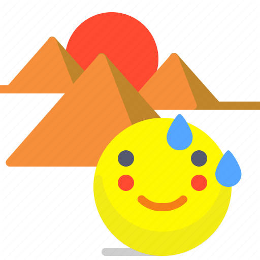 Construction, Desert, Egypt, Pyramids, Sand, Wonder Icon