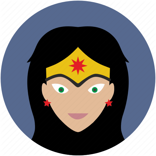 Avatar, Comics, Face, Head, Hero, Woman Icon