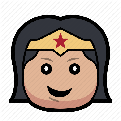 Cartoon, Hero, Superhero, Woman, Wonder Icon