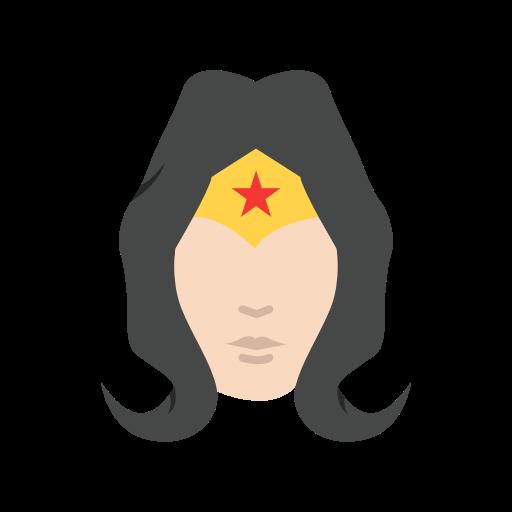 Female Superhero, Justice League, Superhero, Wonder Woman Icon