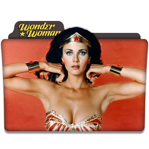Wonder Woman Tv Series Folder Icon