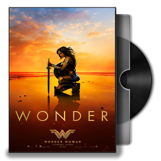 Wonder Woman Folder Icon