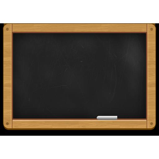 Free Wooden Black Chalkboard Icon