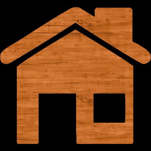 Seamless Wood Home Icon
