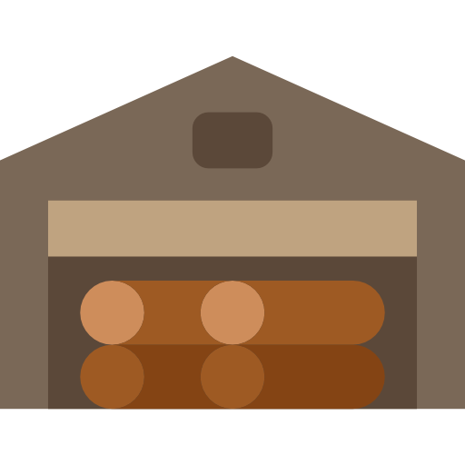 Wooden, Wood, Nature, Construction And Tools, Log Icon