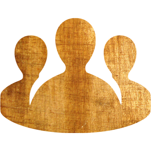 Light Wood Conference Call Icon
